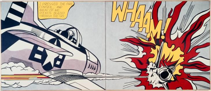 Roy Lichtenstein, 'Whaam!' 1963
