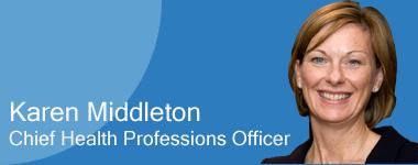 Karen Middleton, Chief Health Professions Officer