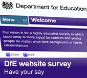 Web survey - have your say