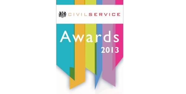 Civil Service Awards 2013 logo