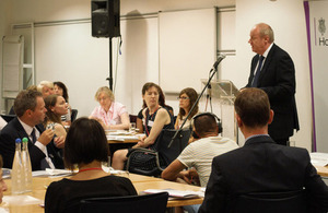 Damian Green rallies key players in fight against child abuse