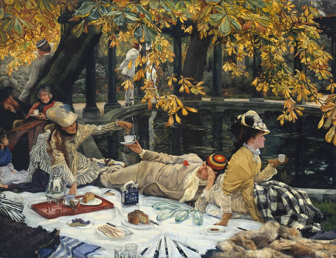 James Tissot, 'Holyday' circa 1876