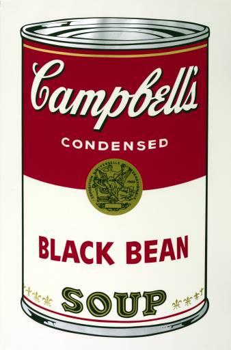 Andy Warhol, 'Black Bean' 1968