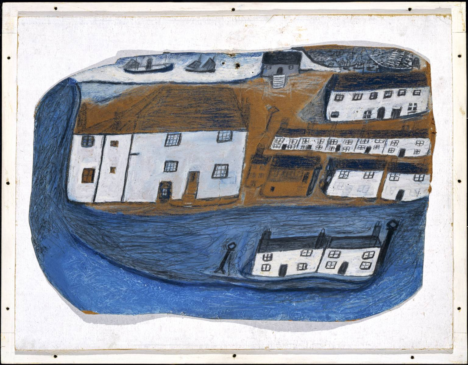 Alfred Wallis, 'St Ives' circa 1928