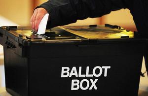A ballot box. Photo: Rui Vieira/PA Wire.