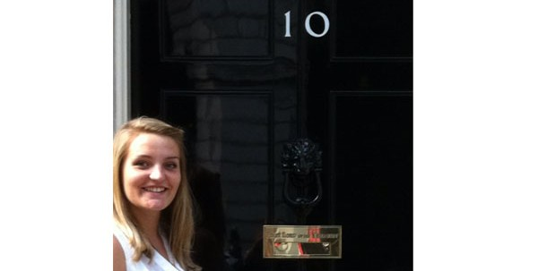 Grace Boxall at Number 10