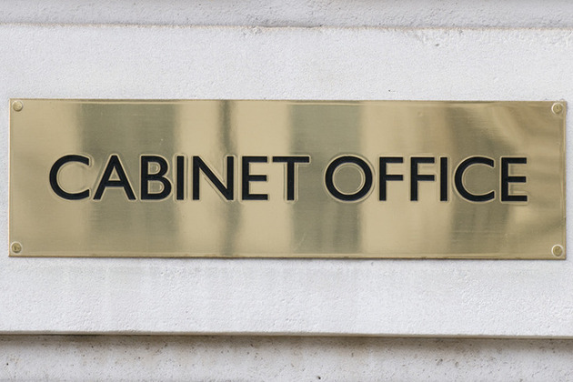 Cabinet Office plaque
