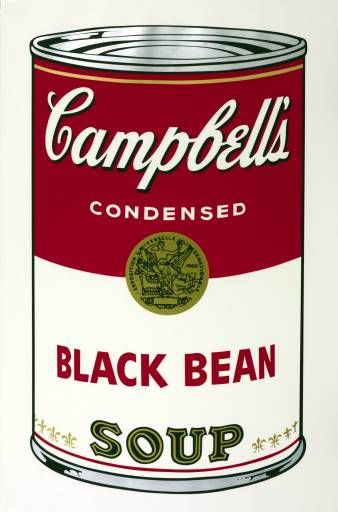 Andy Warhol, 'Black Bean' 1968