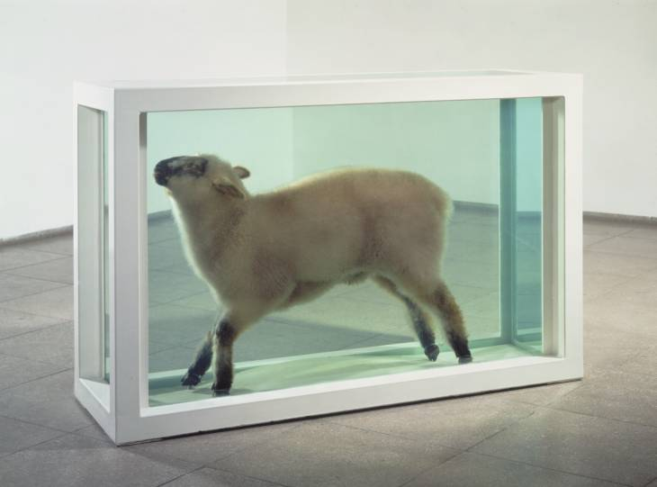 Damien Hirst, 'Away from the Flock' 1994