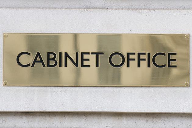 Cabinet Office plaque