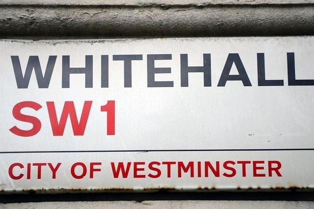 "Street sign reading ""Whitehall"""