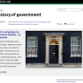 Front page of the GOV.UK History of Government blog