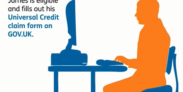 Still from Universal Credit film - YouTube
