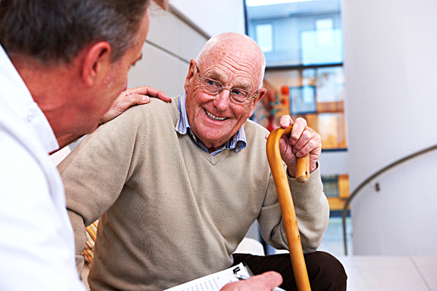 Older person with GP