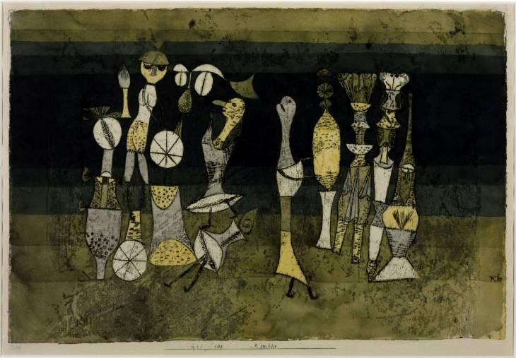 Paul Klee, 'Comedy' 1921