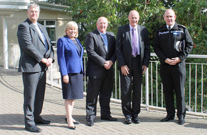 Policing Minister praises force's new base