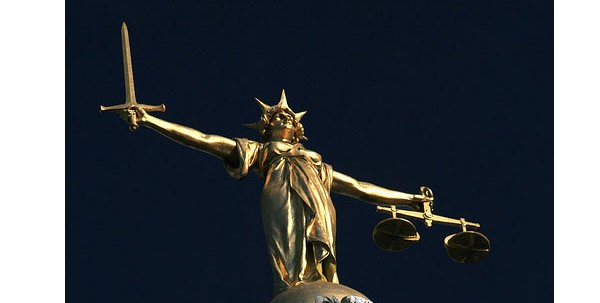 Scales of justice - Old Bailey