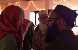 Home Secretary visits West Midlands mosque