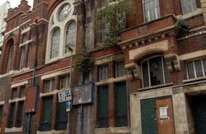 Disused building