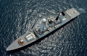 HMS Daring (library image) [Picture: Leading Airman (Photographer) Keith Morgan, Crown copyright]