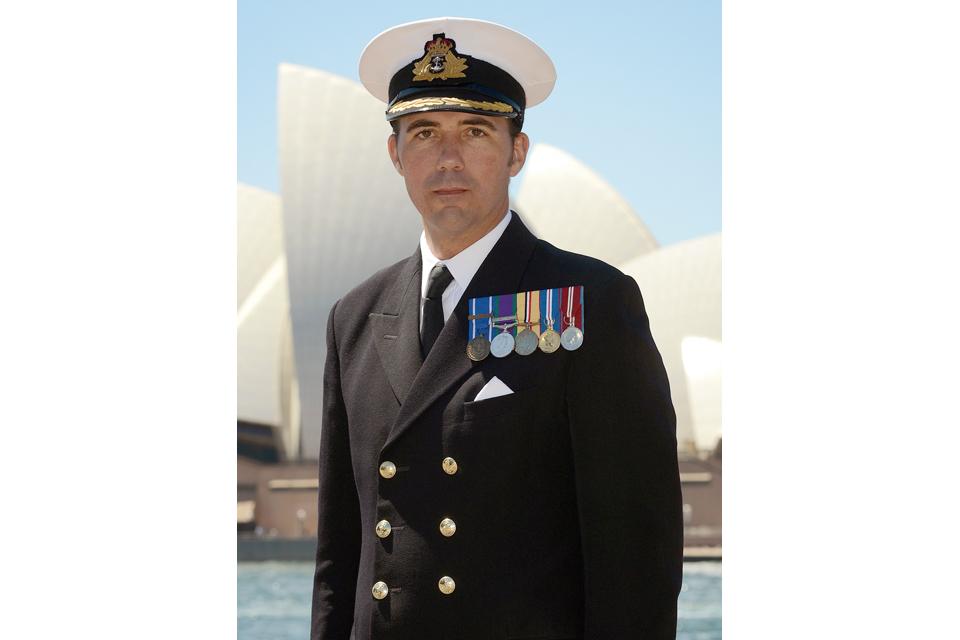 Commander Angus Essenhigh
