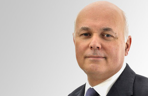 Secretary of State for Work and Pensions, Iain Duncan Smith