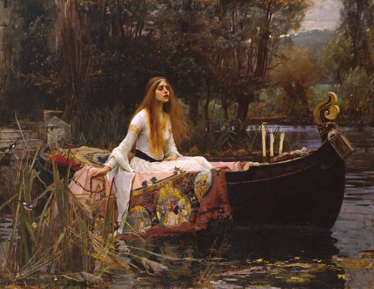 John William Waterhouse, 'The Lady of Shalott' 1888
