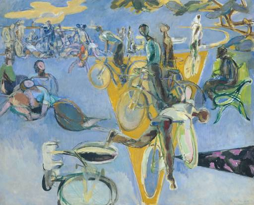 Robert Medley, 'Summer Eclogue No. 1: Cyclists' 1950