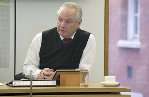 Francis Maude at cyber event