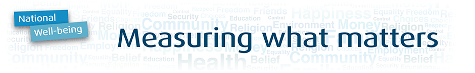 National Well-being banner