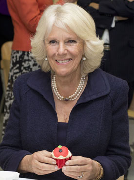 The Duchess of Cornwall visits the Poppy Factory