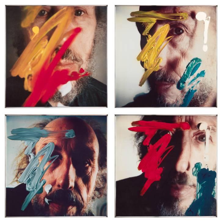 Richard Hamilton, 'Four Self Portraits - 05.3.81' 1990