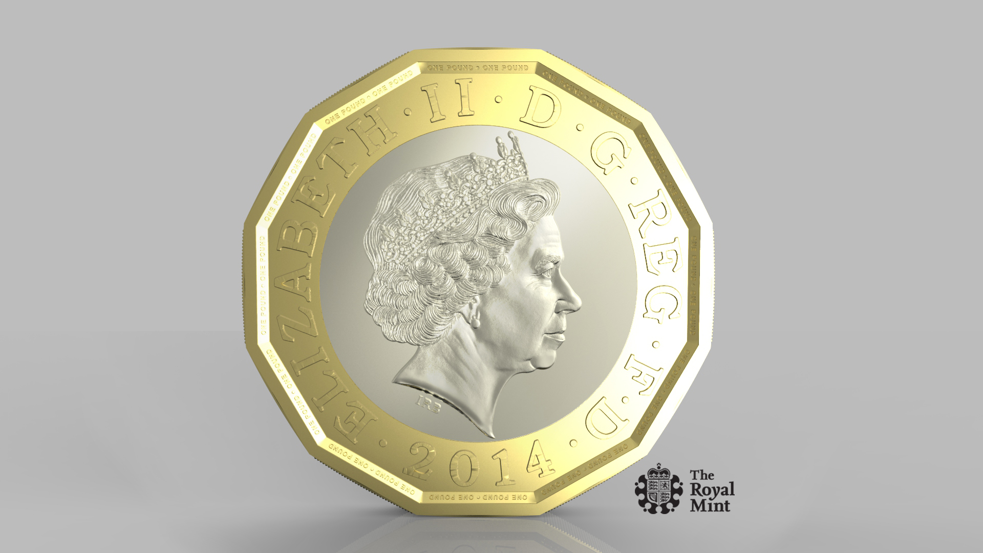 new £1 coin design