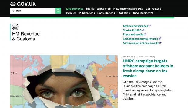 A year on GOV.UK – HMRC's experience