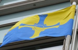 County Durham flag.