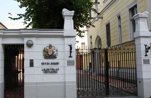 British Embassy Riga