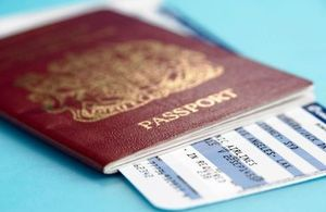 Changes to UK passport fees