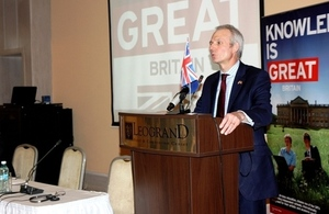 UK Minister for Europe, the Right Hon. David Lidington MP visits Moldova