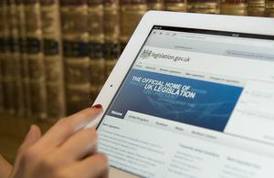 Using the legislation.gov.uk website. Crown copyright