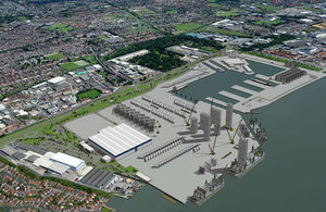 Proposed Siemens facility in Hull
