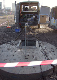 Testing and analysis at the borehole