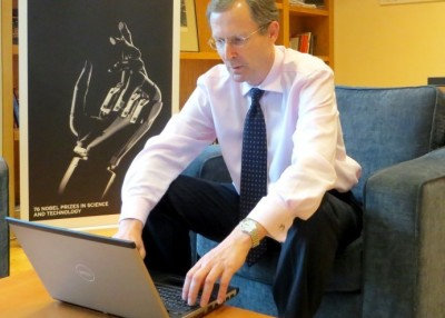 Ambassador Stokes chaired the online discussion on facebook on safety of journalist on 19 June 2013