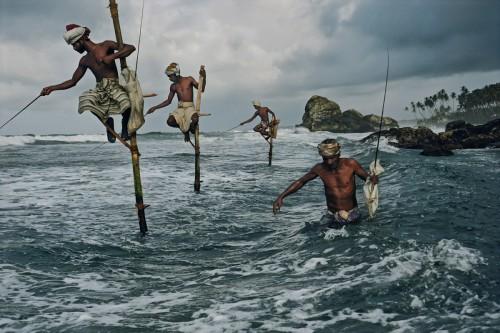 Traditional Stilt Fishermen