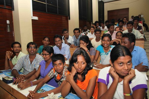 Youth Leaders from across Sri Lanka learning more about the Commonwealth