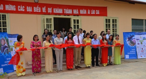 Ambassador Stokes opened the Compassion House in Lao Cai, June 2013.