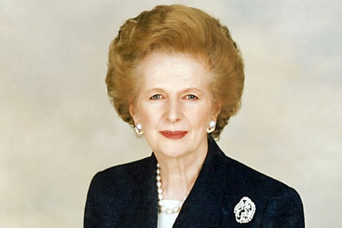 Photo provided by Chris Collins of the Margaret Thatcher Foundation