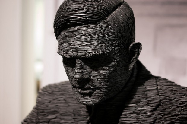 Image of Alan Turing courtesy of Michael Dales under a Creative Commons licence