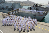 Prince Charles thanks Northumberland for keeping the seas safe