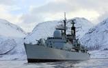 HMS Liverpool Returning Home