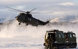 Commando helicopters come through harsh Arctic training